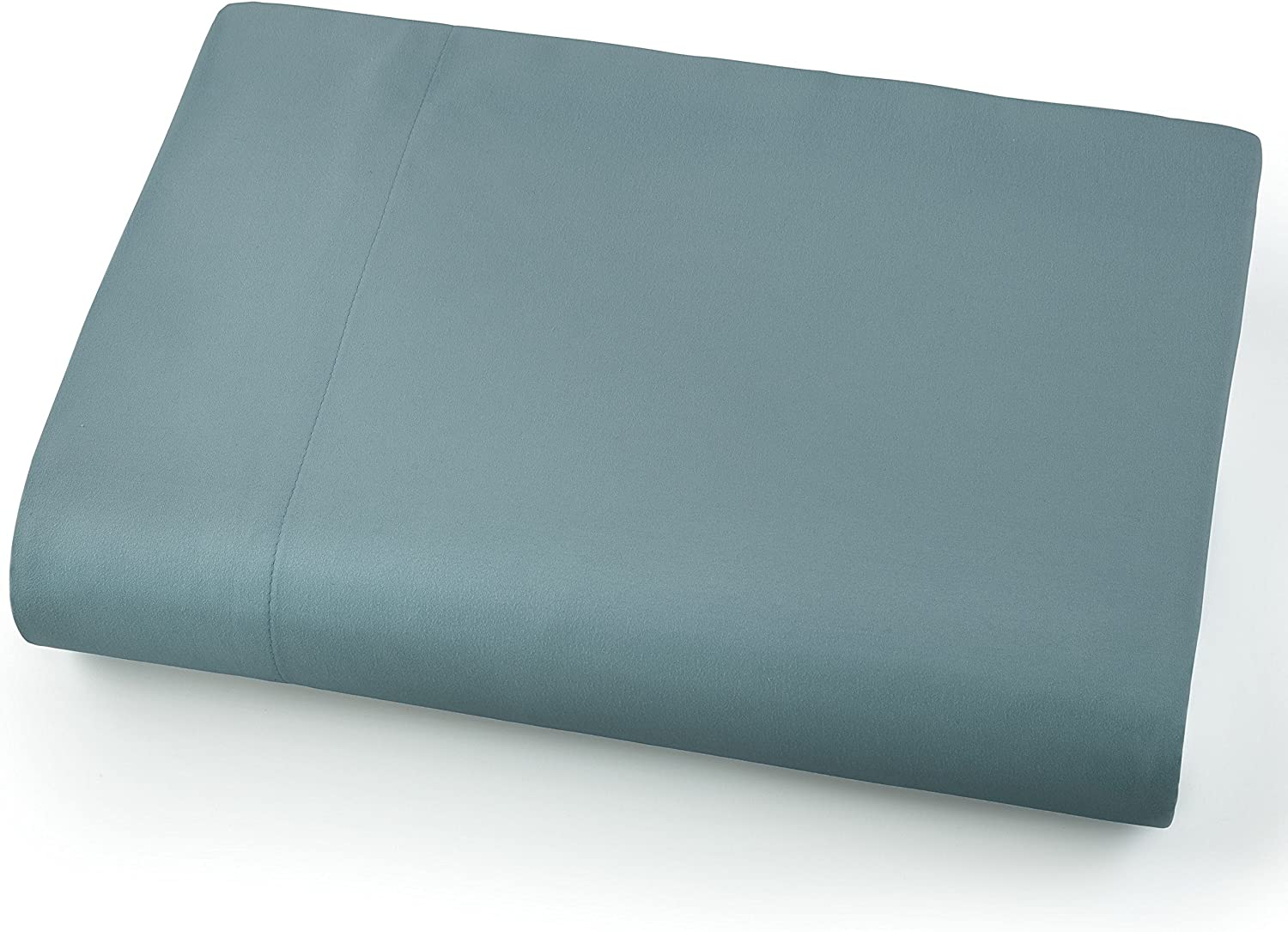 Southshore Fine Linens - Oversized Flat Sheets Extra Large - 132 Inches x 110 Inches (Steel Blue (Teal))