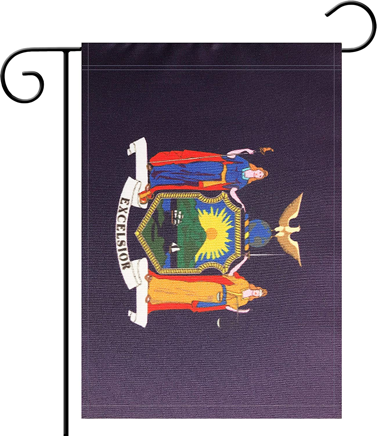 Flag Garden New York State Garden, Garden Decoration, Indoor and Outdoor, Celebration Parade, New York State Party Event Decorations,Double-Sided.