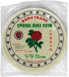 "8 1/2"" Spring Roll Wrapper / Rice Paper"