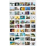 Lumaland porte-photos collage pour images et photos différentes tailles 50 poches