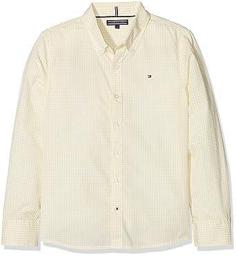 Tommy Hilfiger Jungen Hemd Mini Gingham Shirt L S  Amazon.de  Bekleidung b11e800a8c