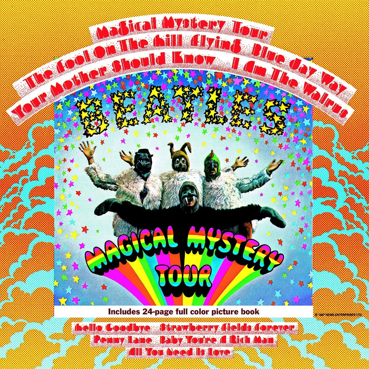 Vinilo : The Beatles - Magical Mystery Tour (180 Gram Vinyl, Remastered, Reissue)