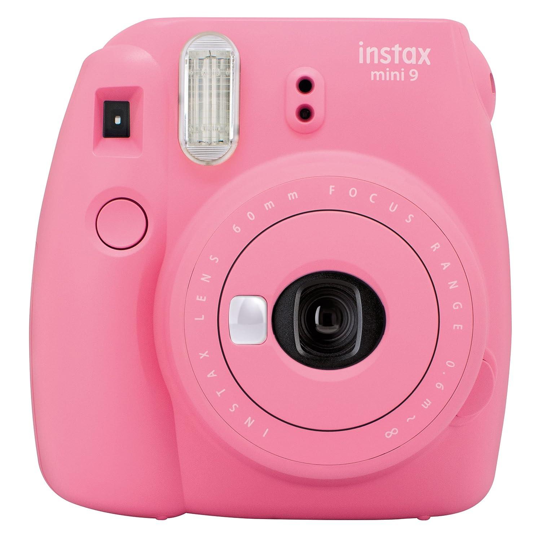 Fujifilm Instax Mini 9 - Cámara Instantánea, color Rosa Flamingo