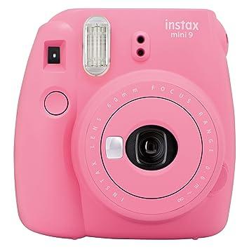 8356fcf54d Fujifilm Instax Mini 9 - Cámara instantánea, Solo cámara, Rosa: Amazon.es:  Electrónica