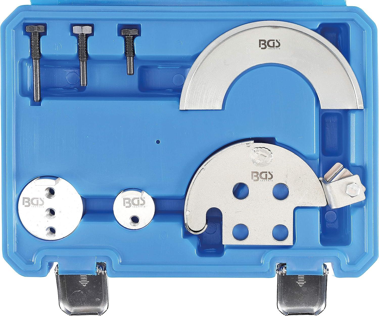 BGS 8301 | Juego de herramientas para el montaje de correas acanaladas y correas elásticas | 7 piezas: Amazon.es: Bricolaje y herramientas