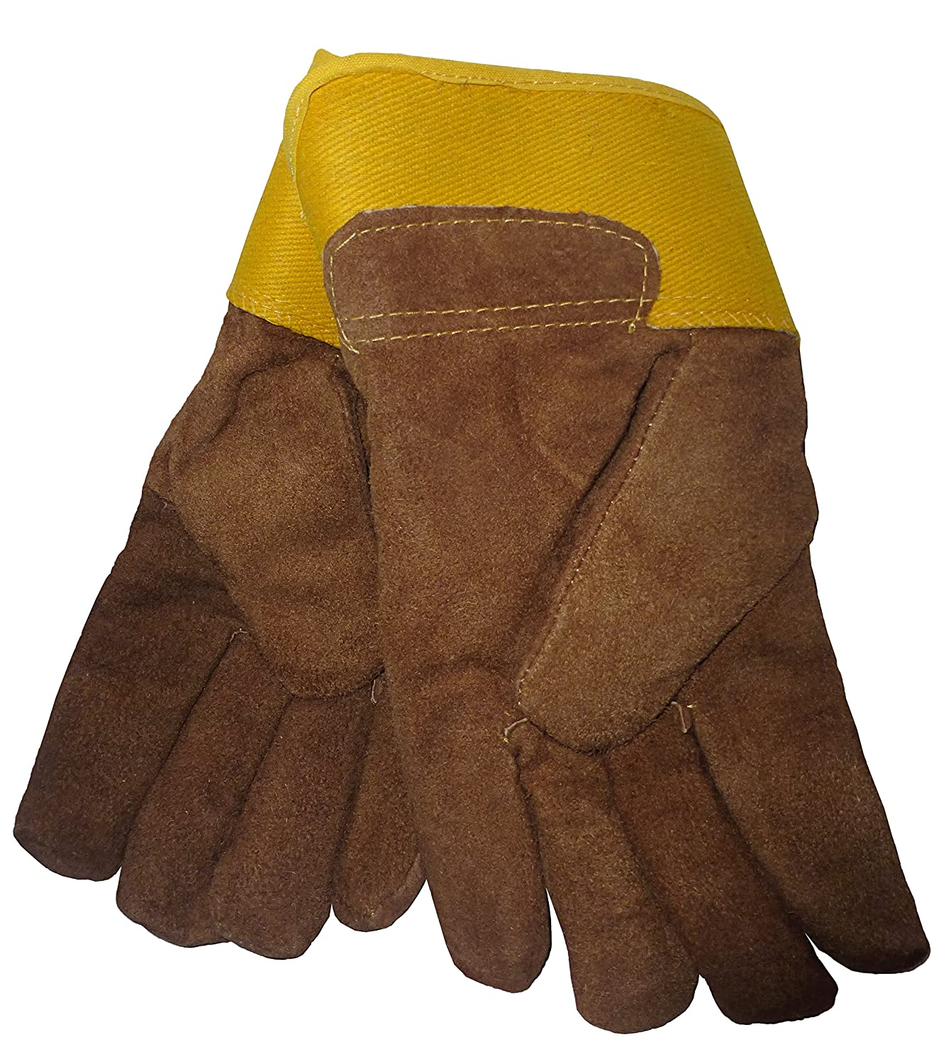 Insulated leather work gloves amazon - Amazon Com Mens B G Heavy Work Insulated Fleece Pile Lined Leather Winter Gloves Xl Clothing