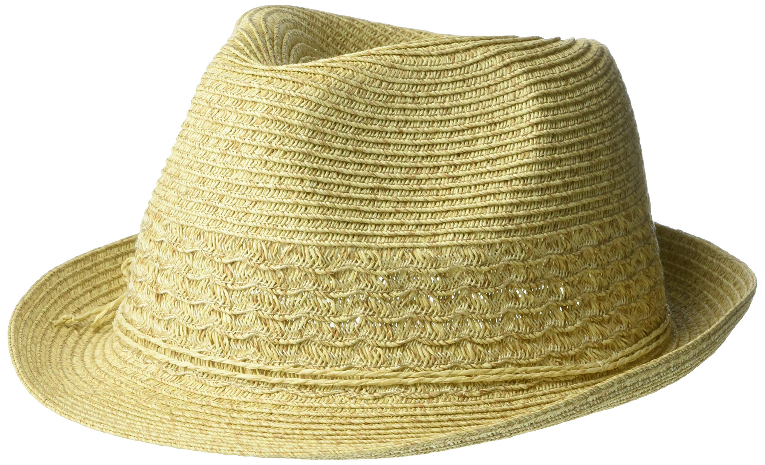 Nine West Women's Packable Fedora, Sand Heather, One Size