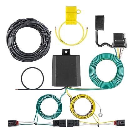 curt manufacturing 56374 custom wiring harness  custom wiring harness (4 way flat