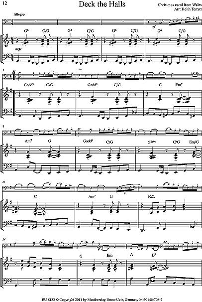 8 Swing Extremo Canciones de Navidad para contrabajo y Piano/8 ...