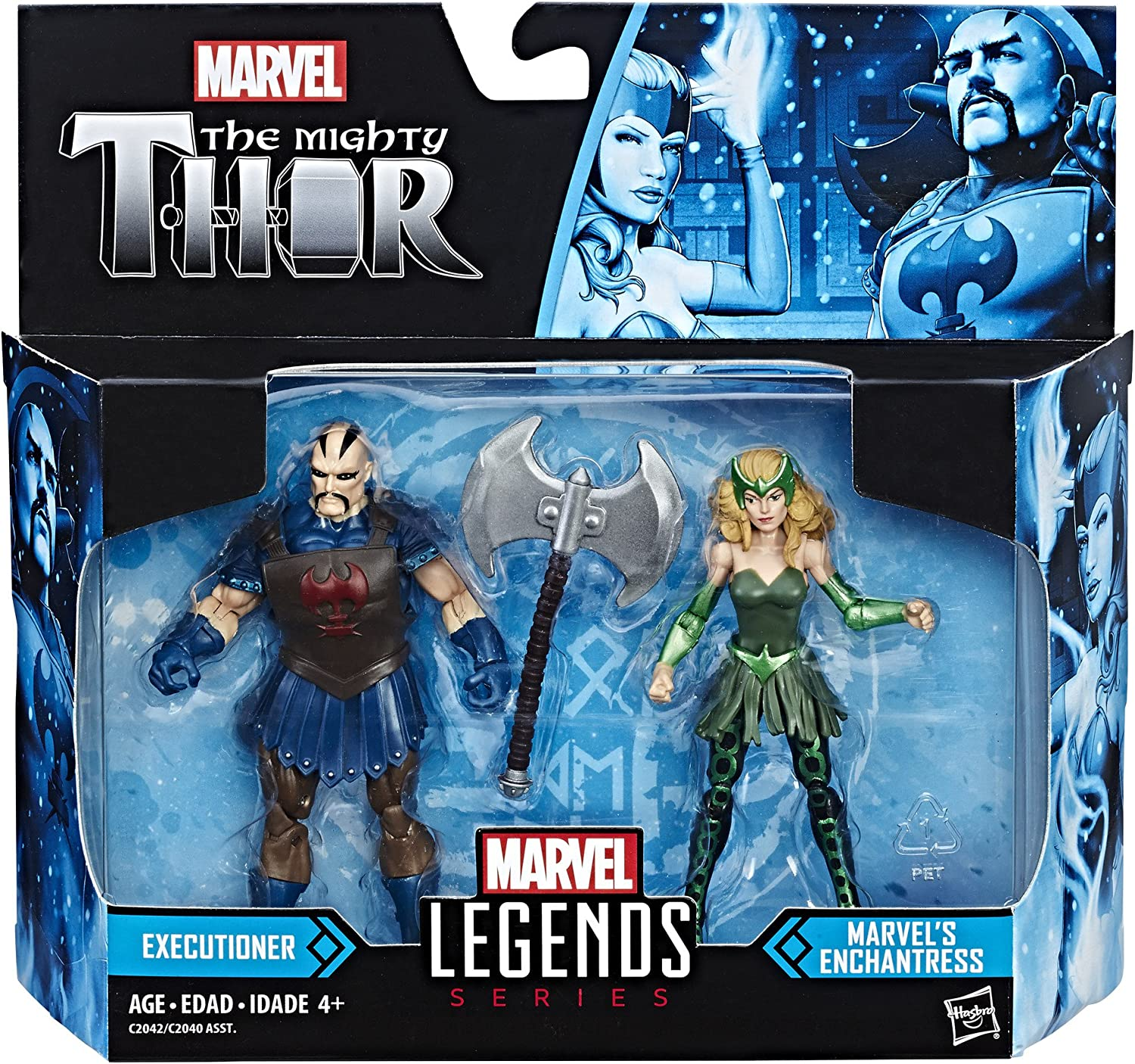 MARVEL LEGENDS SÉRIE FIGURINE DE 10 CM MARVEL/'S ENCHANTRESS SÉRIE THOR EN LOOSE