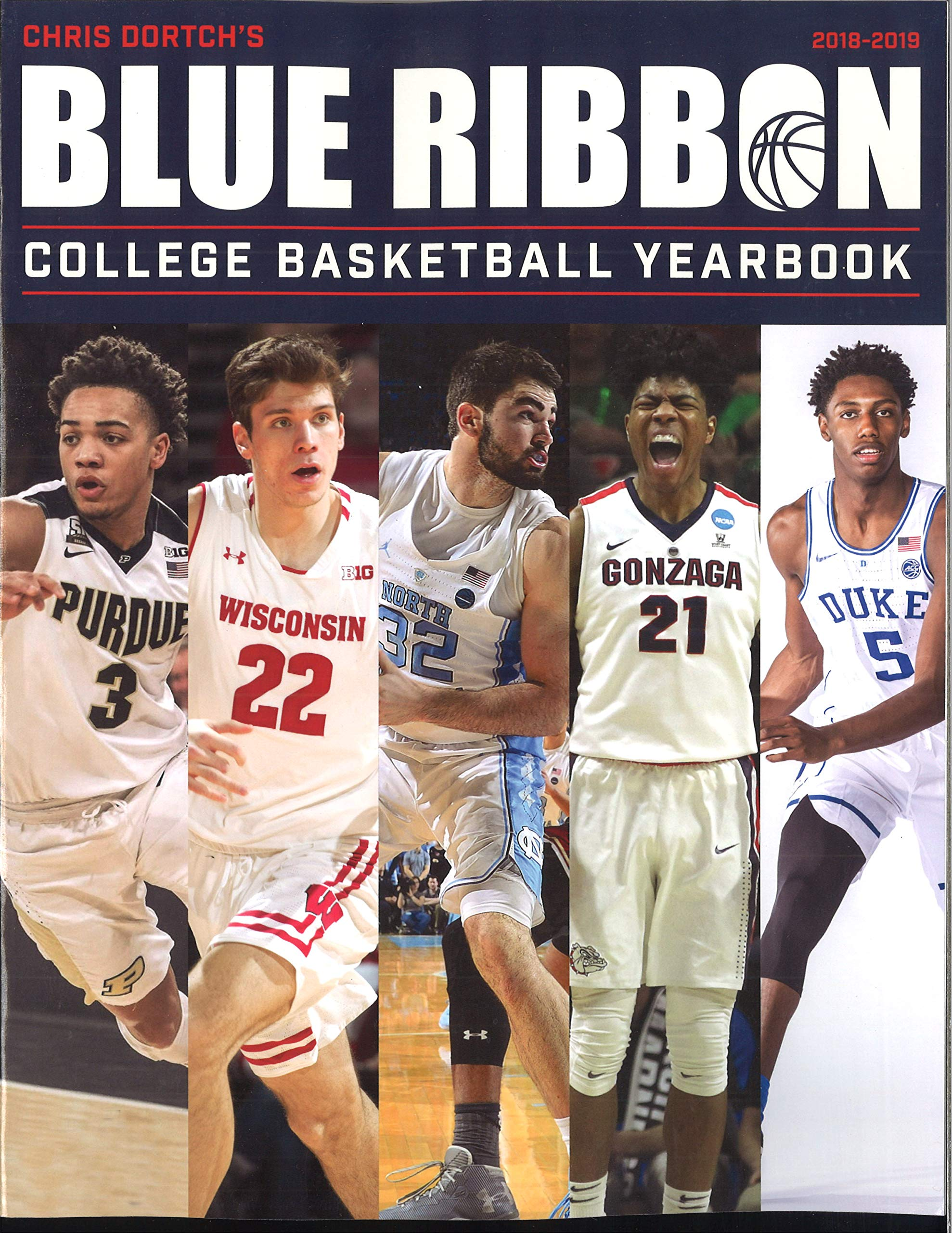 2018 2019 Blue Ribbon College Basketball Yearbook Chris Dortch