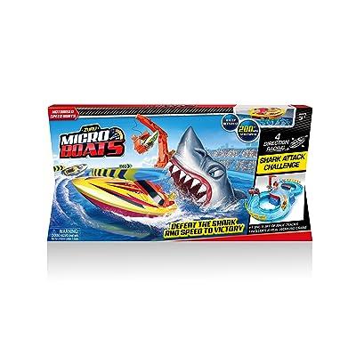 Zuru Micro Boats Shark Attack Playset: Toys & Games