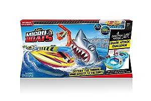 Zuru Micro Boats Shark Attack Playset