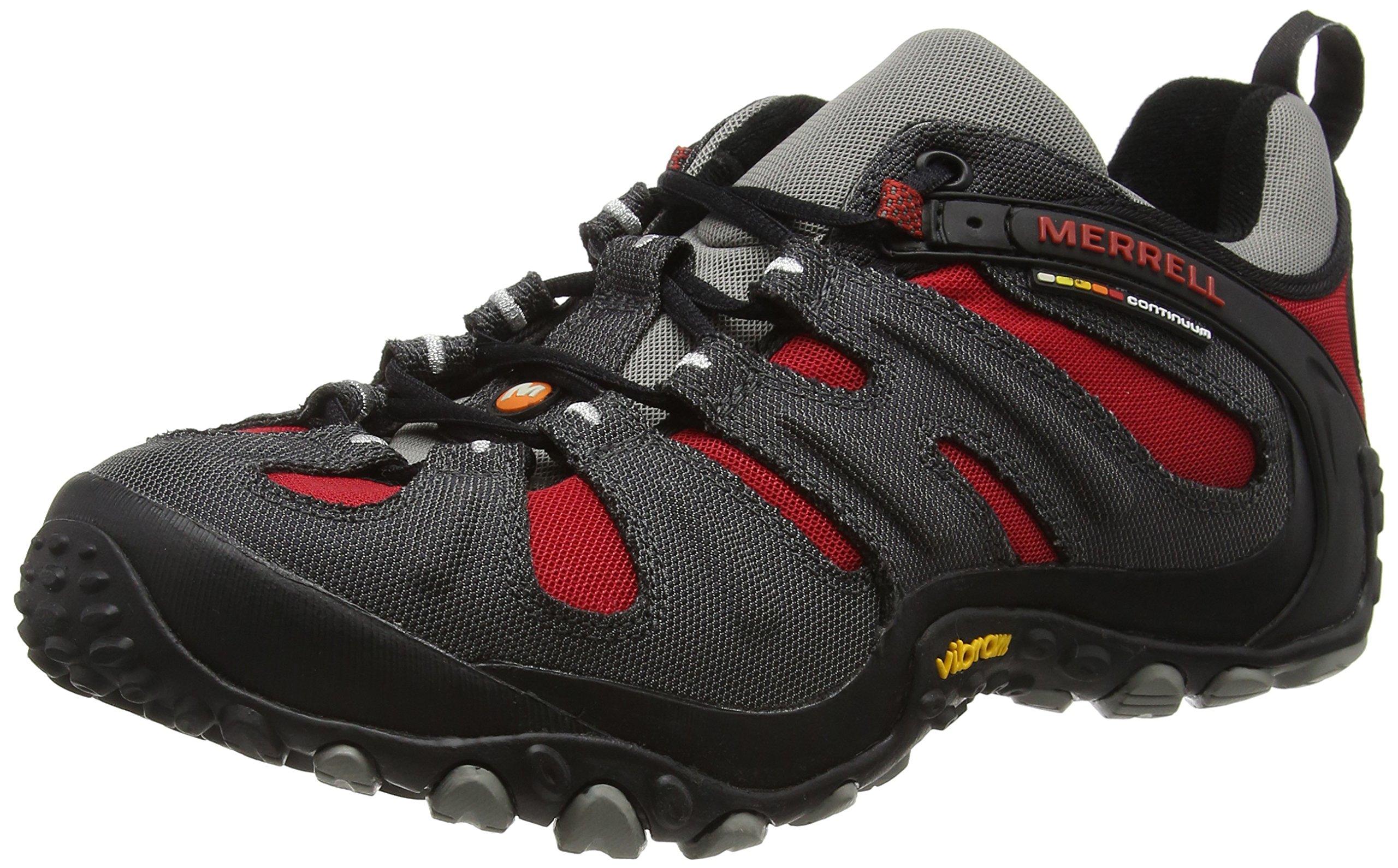 Merrell Men's Chameleon Slam II Walking Shoe, Charcoal Red - 9 D(M) US