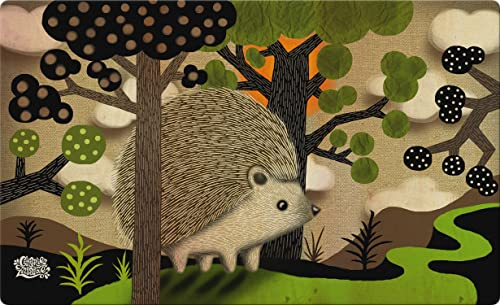 Toland Home Garden 830244 Happy Hedgehog 18 x 30 Recycled Mat, USA Produced