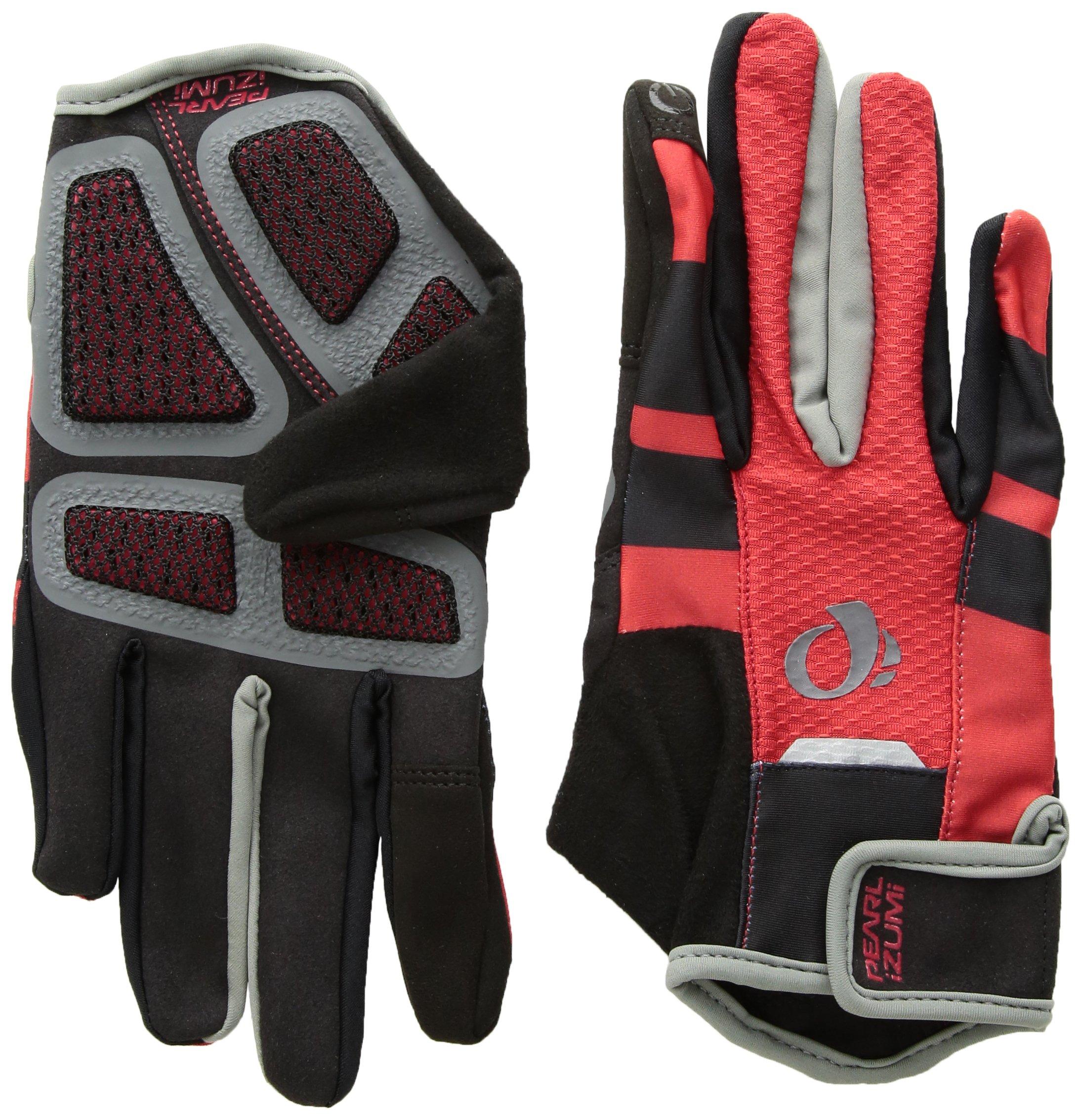 PEARL iZUMi PRO Gel Vent Full Finger Glove, Rogue Red, Small by Pearl Izumi - Ride