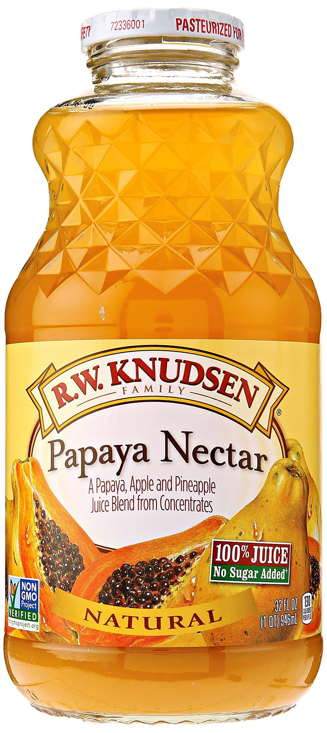 Knudsen Papaya Nectar Juice, 32 oz