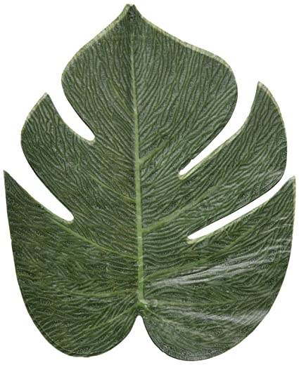 Tropical leaves -luau party decorations - 24 Pack by Fun Express