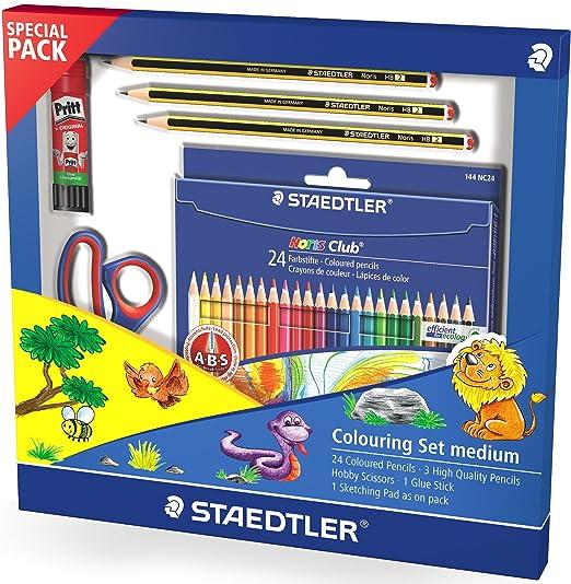 Malstifte Staedtler Buntstifte Noris Club 24er Etui Farbstifte 24 Bleistifte