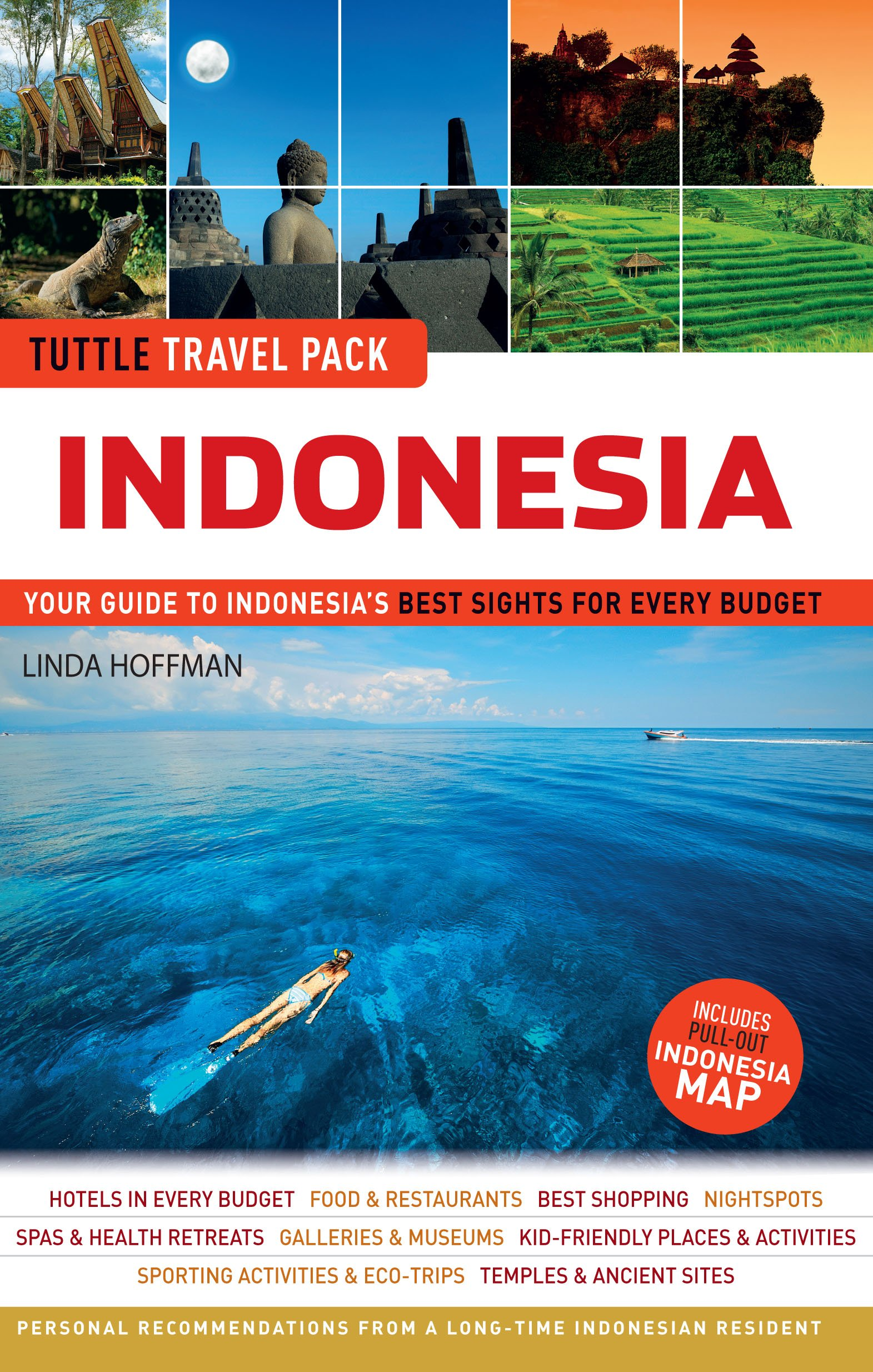 Tuttle Travel Pack Indonesia: Your Guide to Indonesias Best ...