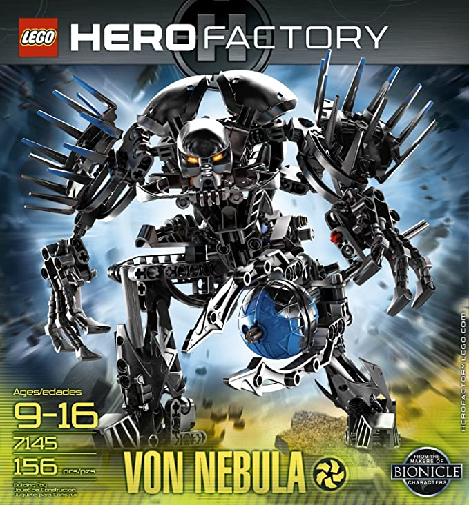 Amazon Lego Hero Factory Von Nebula 7145 Toys Games