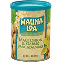 Mauna Loa Maui Onion & Garlic Macadamias, 4.5 oz (127 g)