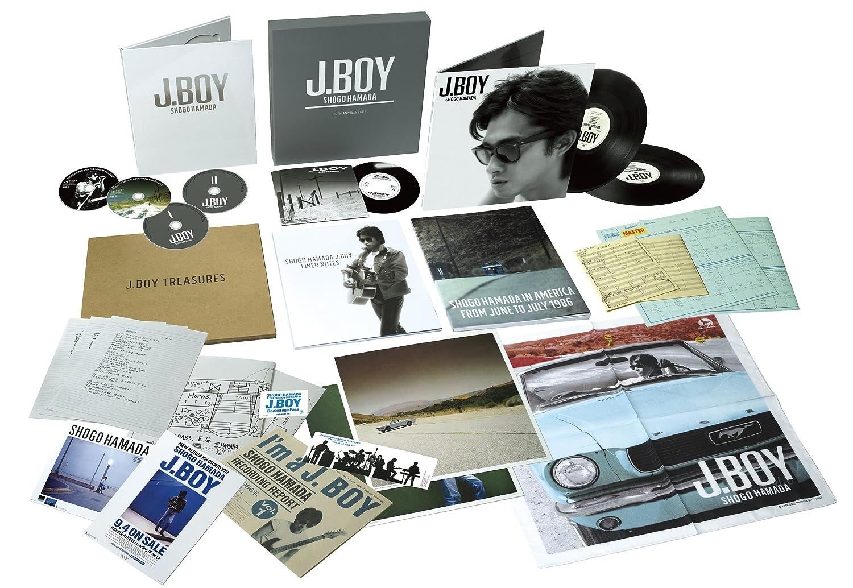 J.BOY 30th Anniversary Box(完全生産限定盤)(2CD+2アナログ盤+2DVD+1アナログ7inchドーナツ盤+メモリアルアイテム)                                                                                                                                                                                                                                                    <span class=