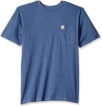 d2082f8a02 Carhartt Men's Maddock Pocket Short Sleeve T Shirt