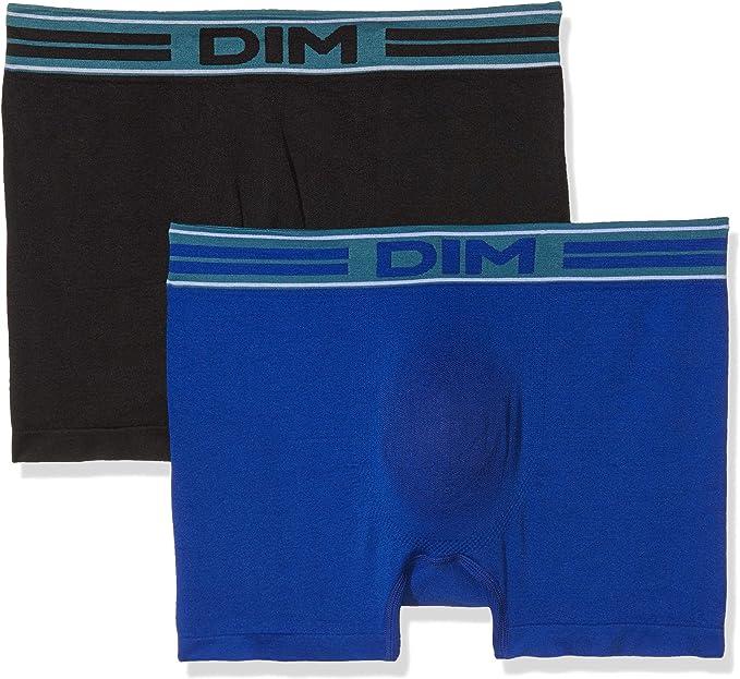 TALLA Medium (Tamaño del fabricante:3). Dim Fashion Anatomic Bóxer (Pack de 2) para Hombre