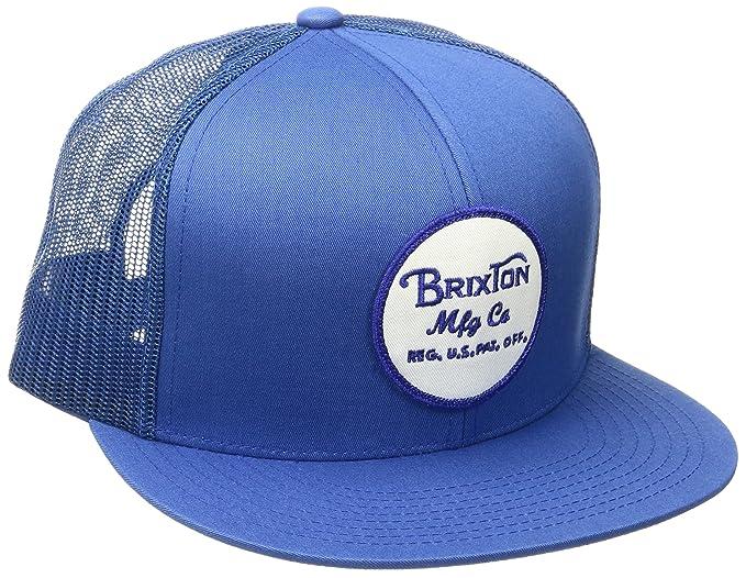 Gorra Trucker Wheeler de Brixton - Azul Real - Adjustable