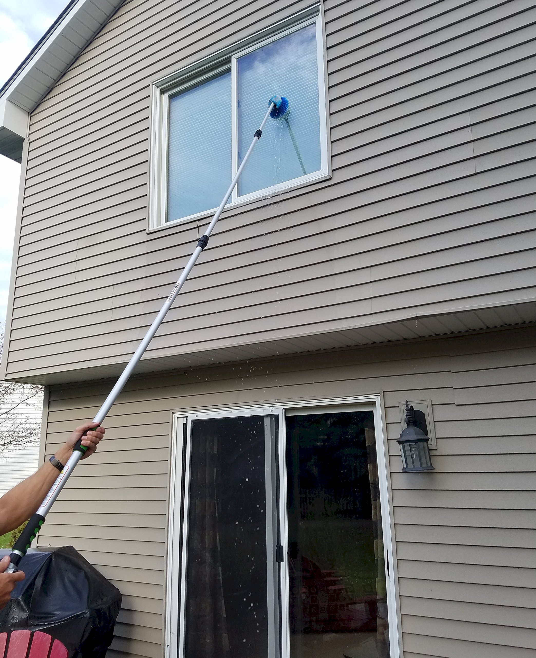 Ezy Flo Deluxe High Reach Gutter/Window/Patio Cleaning Kit by Ezy Flo (Image #9)