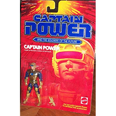 Captain Power Action Figure: Toys & Games