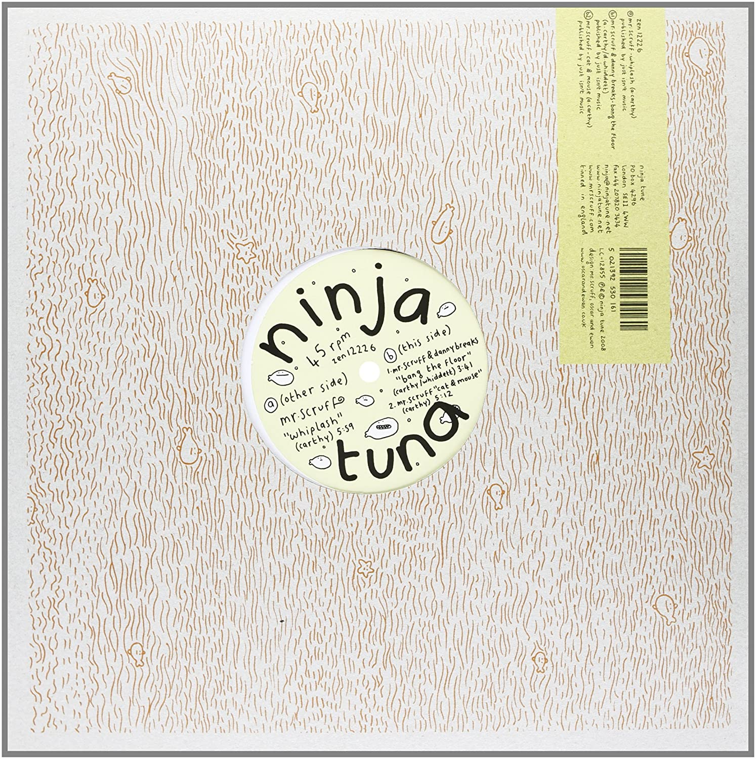 MR SCRUFF - Whiplash/Bang the Floor [Vinyl] - Amazon.com Music