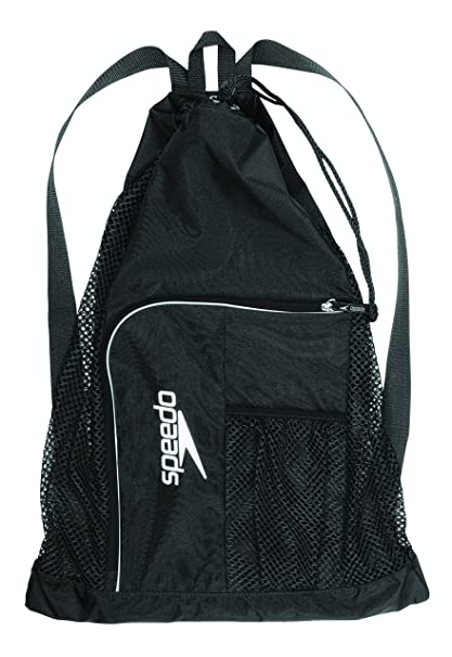 Amazon.com   Speedo Deluxe Ventilator Mesh Equipment Bag, Black, 1SZ ... bb0dcbd144