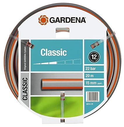 Amazon.com: Gardena 5/8-inch by 20 m manguera de jardín, 66 ...