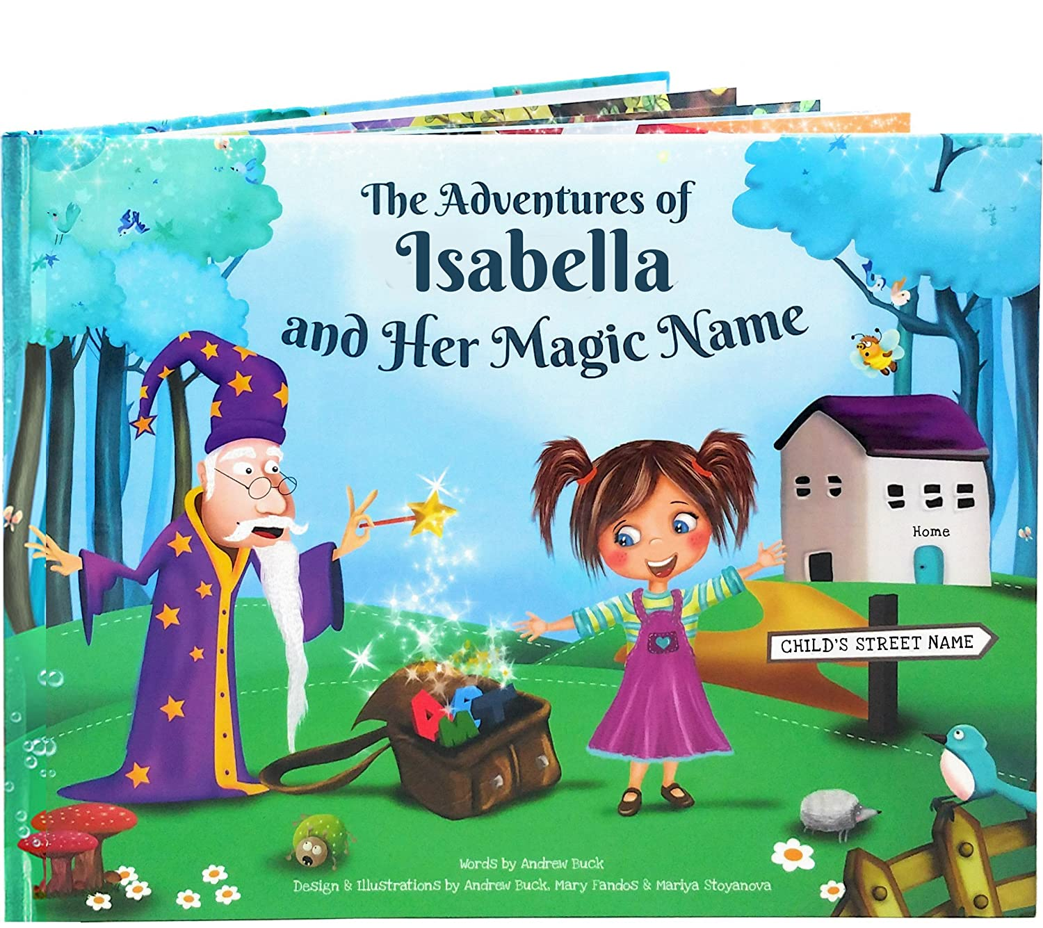 Personalized Story Book for Kids - Every Name Creates An Entirely Unique Rhyming Story