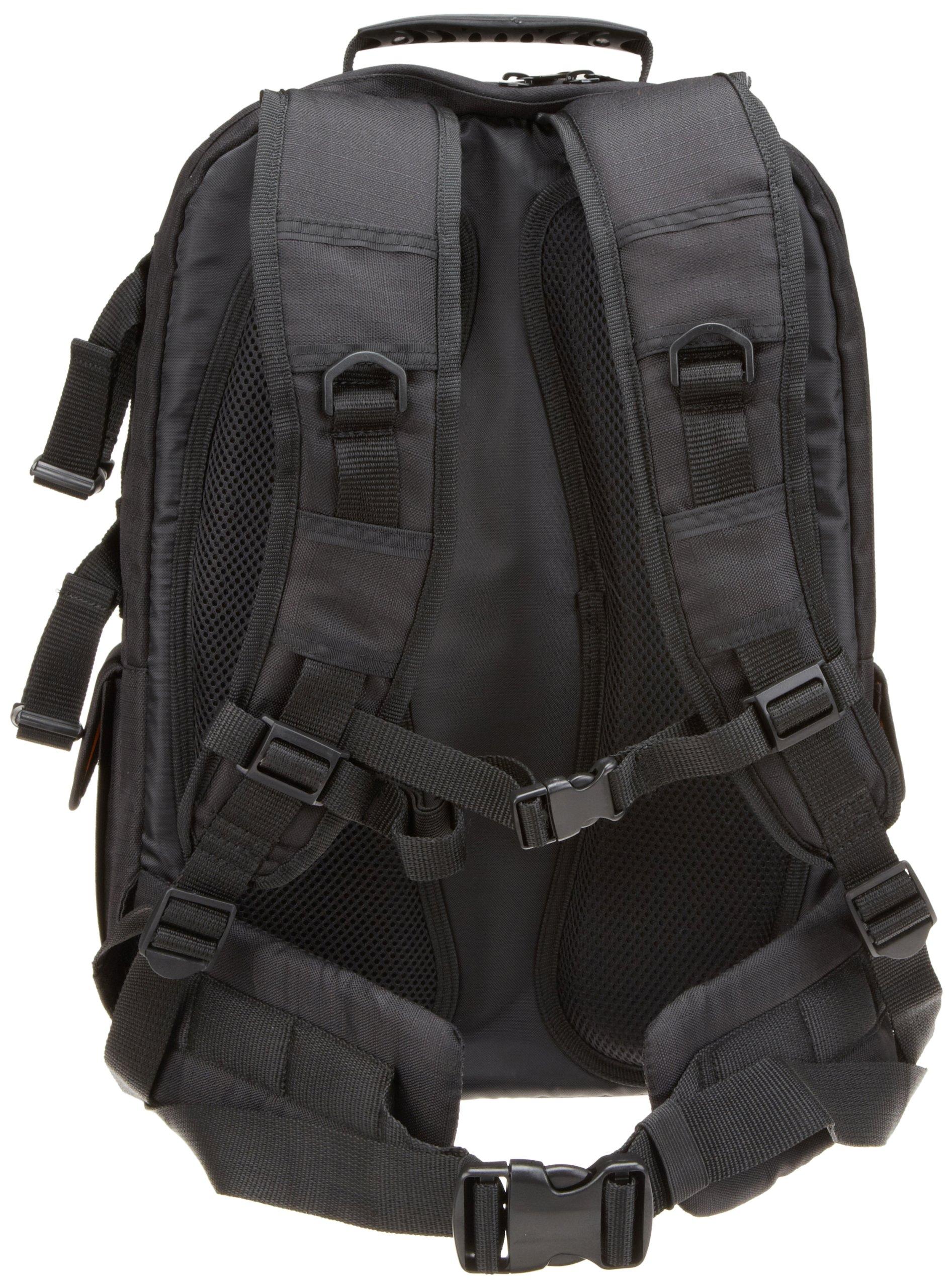 Galleon Amazonbasics Dslr And Laptop Backpack Orange