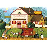 Buffalo Games - Charles Wysocki - Sugar & Spice - 300 Large Piece Jigsaw Puzzle
