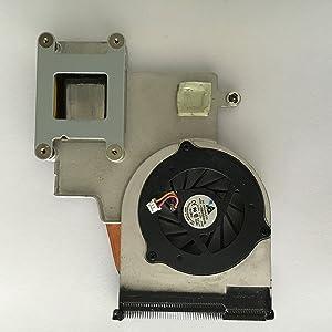 HP Pavilion dv2000 Fan and Heatsink KDB0505HB - 431851-001
