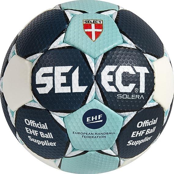 TALLA 2. SELECT Handball Solera Balón de Balonmano, Unisex Adulto
