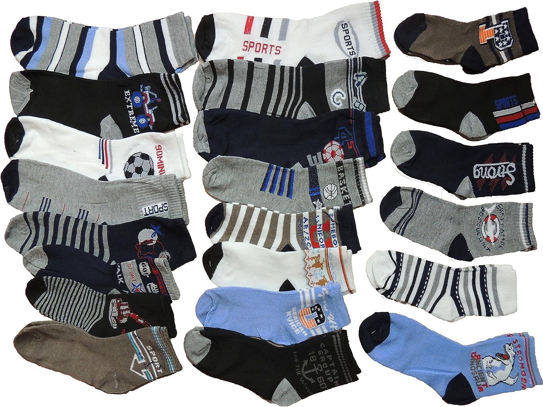 Unbekannt 10 St/ück Jungen Sneaker Socken Gr/ö/ße 27-39 Alle Preise inkl gesetzlicher Mehrwertsteuer