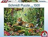 Schmidt Tiger Jigsaw Puzzle (1500 Pieces)