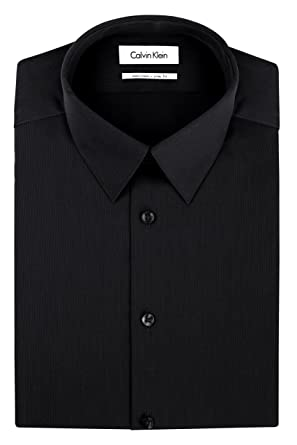 Calvin Klein Men s Dress Shirts Non Iron Slim Fit Solid at Amazon ... 88282d94e