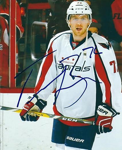 Autographed Travis Boyd Washington Capitals 8x10 photo - w COA at ... 9c7e7a8e6fb