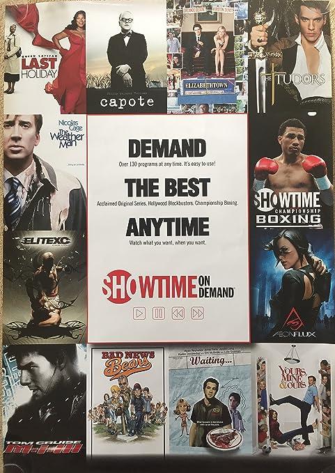 Amazon com : SHOWTIME ON DEMAND POSTER (2007) Authentic