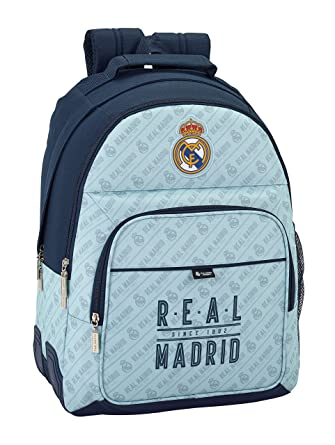 Safta Mochila Escolar Real Madrid Corporativa Oficial 320x150x420mm: Amazon.es: Ropa y accesorios
