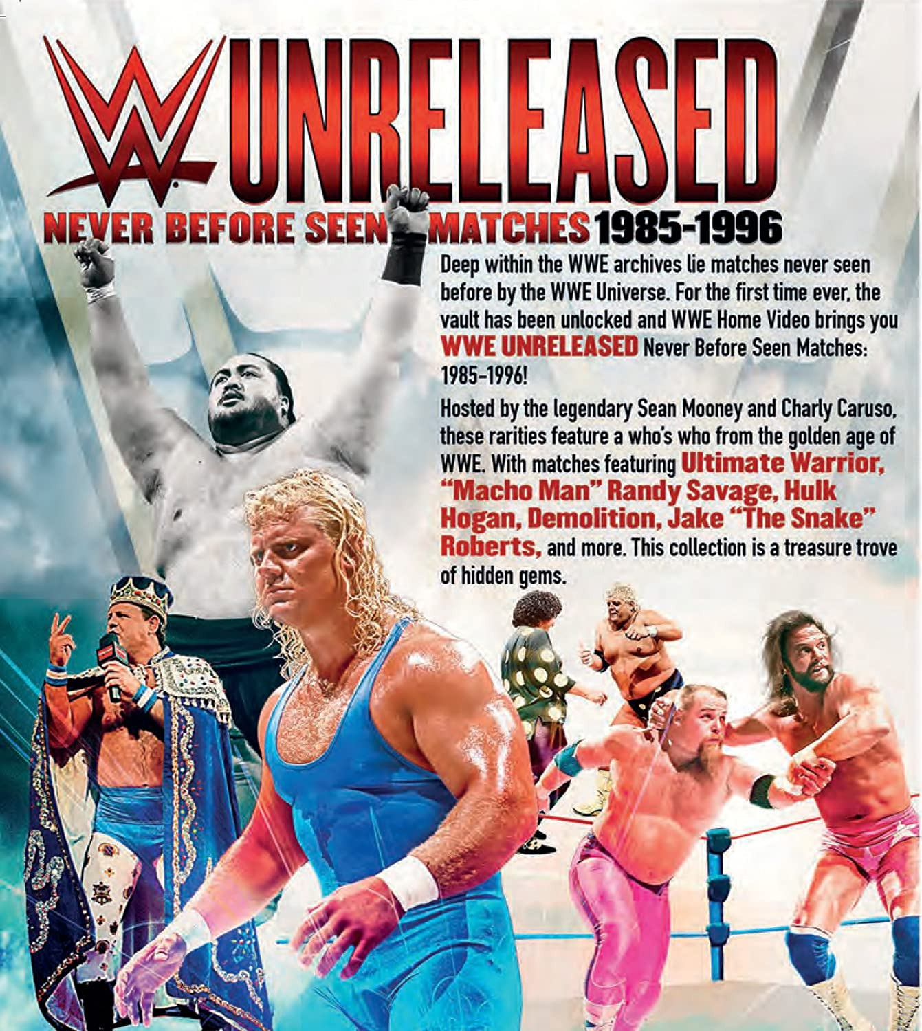 WWE Unreleased: 1986-1995 [DVD] [Reino Unido]: Amazon.es ...
