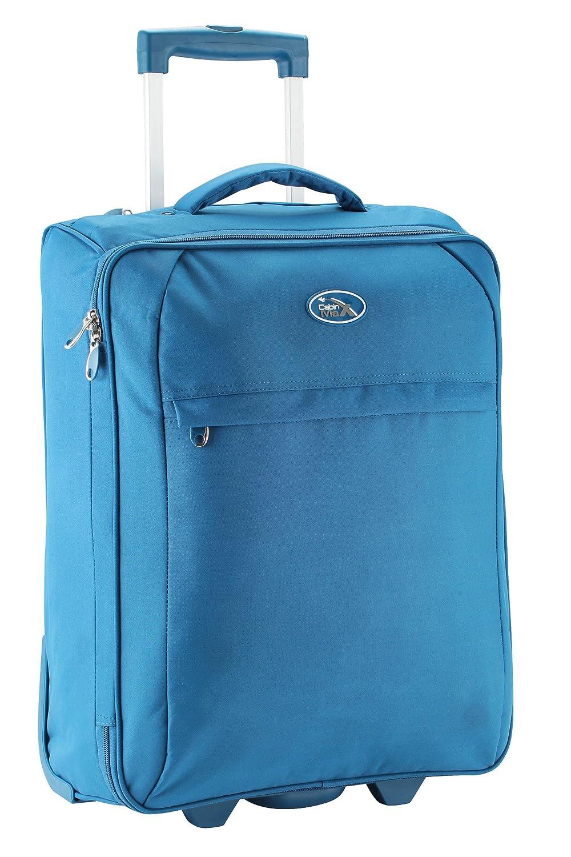 Cabin Max Palma plier valise plat 55 x 40 x 20 cm (Bleu)