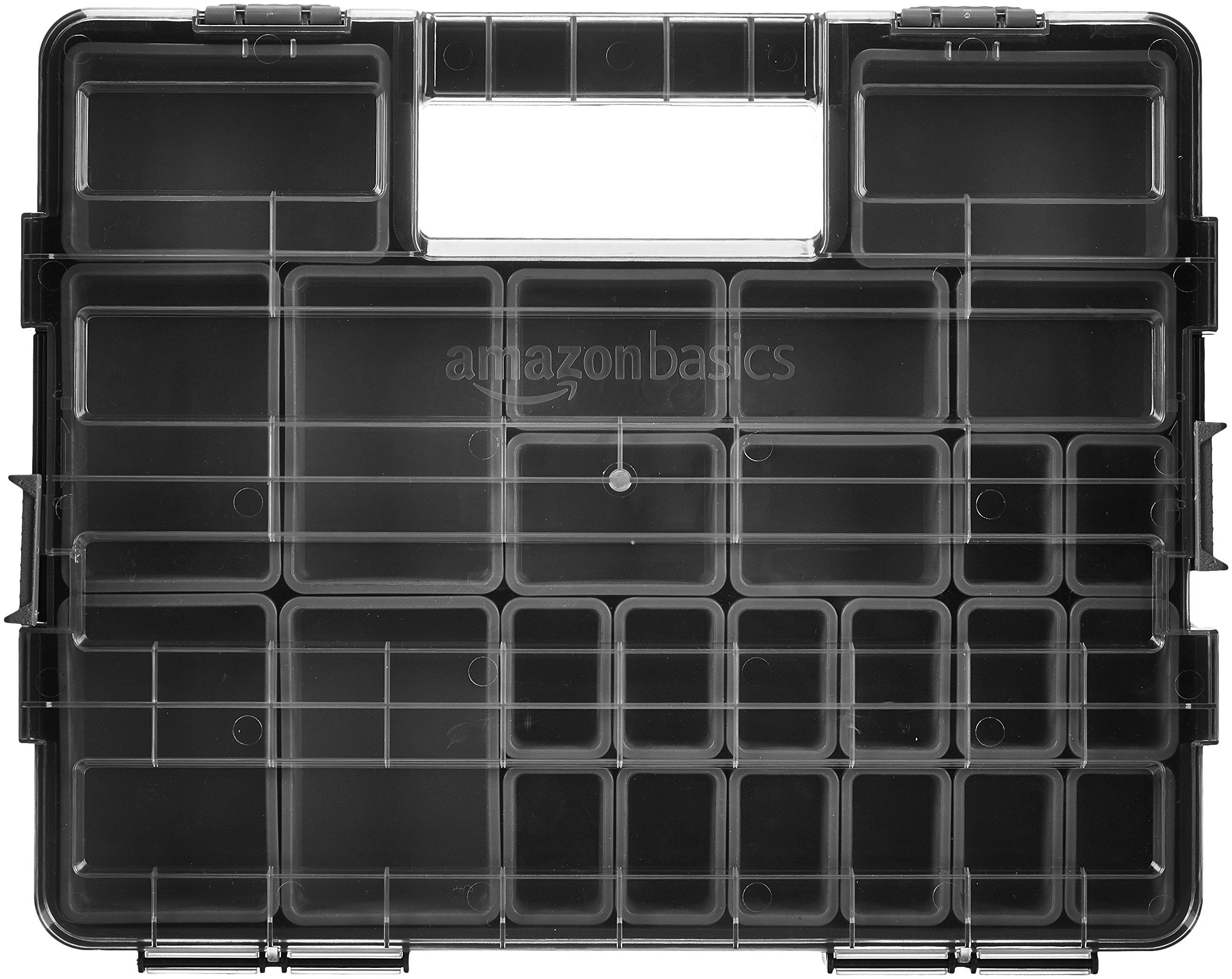 AmazonBasics Tool Organizer - 25 Compartments by AmazonBasics