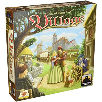Village Board Game: Toys & Games
